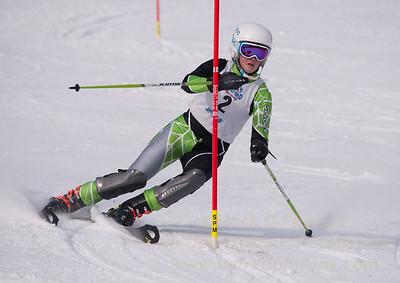 Alexandra Temple at U19 Race at Blandford Ski Area on January 30, 2016