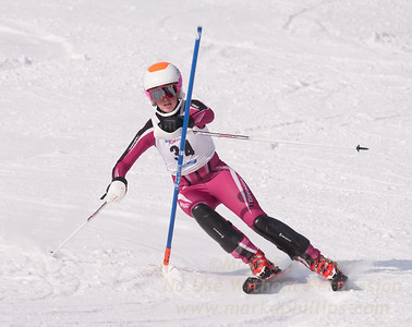 Kathryn Phair at U19 Race at Blandford Ski Area on January 30, 2016