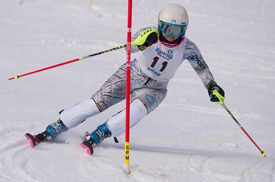 Jillian Scherpa at U19 Race at Blandford Ski Area on January 30, 2016