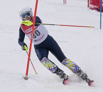 Appell, Kirsten skis at the U19 race at Bousquet Ski Area on January 31, 2016.