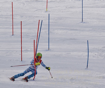 Ella King of Bousquet skis at the U19 race at Bousquet Ski Area on January 31, 2016.