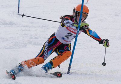 Aronson, Shayna skis at the U19 race at Bousquet Ski Area on January 31, 2016.