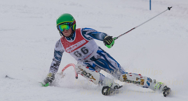 Guzzi, Anthony skis at the U19 race at Bousquet Ski Area on January 31, 2016.