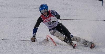 Denhart, Charlie skis at the U19 race at Bousquet Ski Area on January 31, 2016.