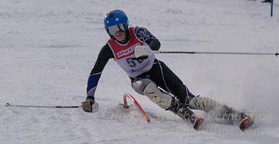 Denhart, Charlie skis at the U19 race at Bousquet Ski Area on January 31, 2016.