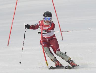 Margrete Skaugen at Bousquet U19 TriState Slalom Qualifier on January 8, 2017