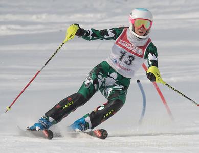 Mackenzie Hatch at Bousquet U19 TriState Slalom Qualifier on January 8, 2017