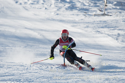 U19 race at Bosquet Ski Area on January 7, 2018