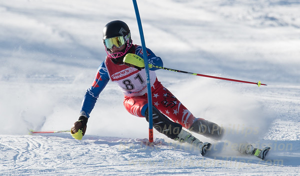 Bousquet U19 Slalom: January 7, 2018