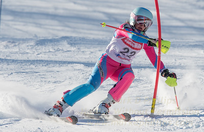Elise Namnoum of MTSO at U19 race at Bosquet Ski Area on January 7, 2018