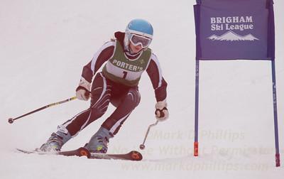 Porter's at the Brigham Ski League GS Championship at Ski Sundown on February 17, 2016