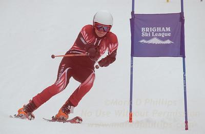 The Gunnery School at the Brigham Ski League GS Championship at Ski Sundown on February 17, 2016