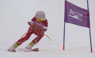 Taft School at the Brigham Ski League GS Championship at Ski Sundown on February 17, 2016
