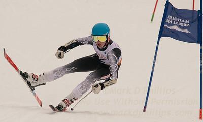 Brigham Ski League GS Championship Feb. 17, 2016