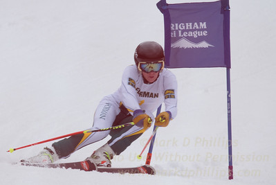 Forman School at the Brigham Ski League GS Championship at Ski Sundown on February 17, 2016
