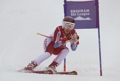 the Brigham Ski League GS Championship at Ski Sundown on February 17, 2016