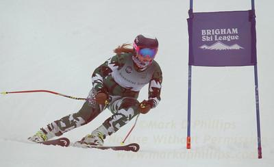 Berkshire School at the Brigham Ski League GS Championship at Ski Sundown on February 17, 2016