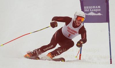 Salisbury School at the Brigham Ski League GS Championship at Ski Sundown on February 17, 2016
