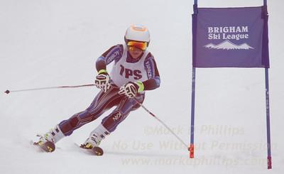 TPS at the Brigham Ski League GS Championship at Ski Sundown on February 17, 2016