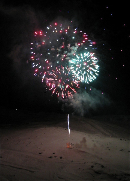 Fire-works (Val Thorens)