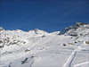 Off piste skiing (Val Thorens)