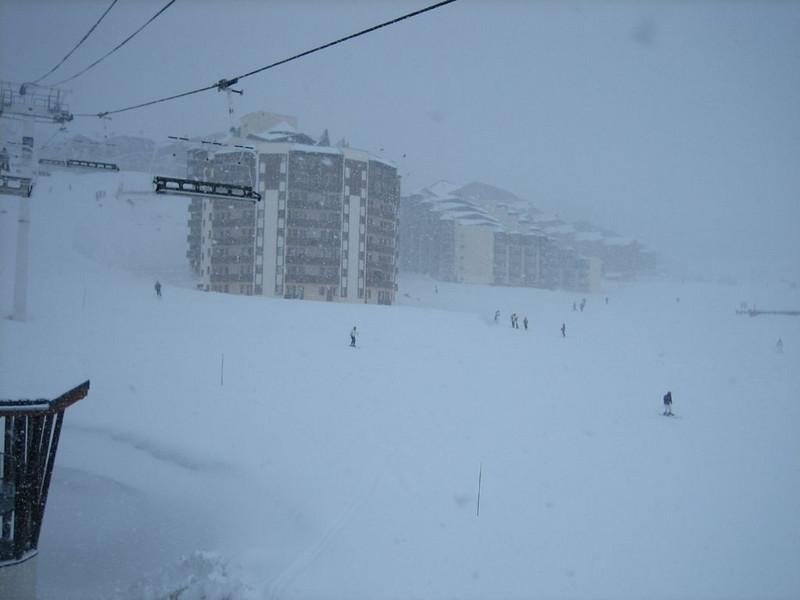 Val Thorens, 3 vallees (on the last day...weather-change)