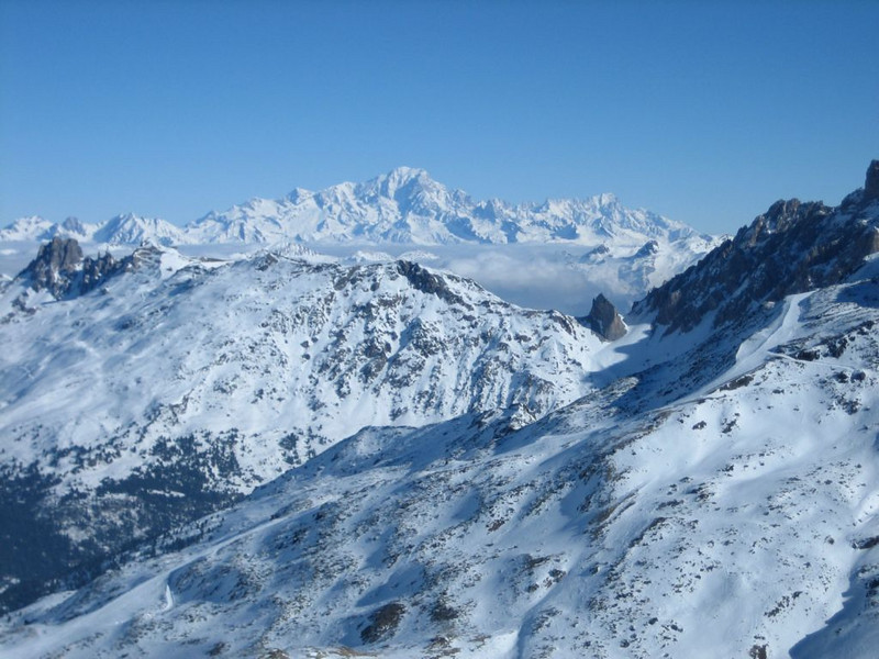Mount Blanc group (Val Thorens, 3 vallees)