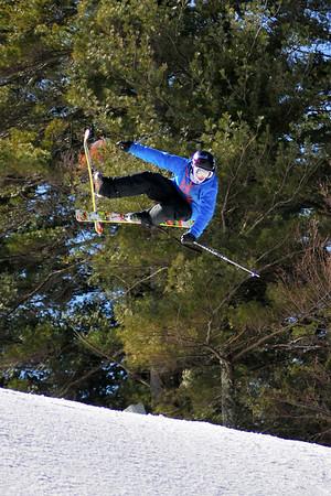 2-27-2012 - Big Air Competition at Nashoba Valley Ski Area
