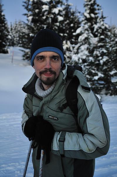 Michal - portrét zdatného běžkaře
