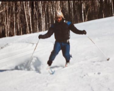 Jimmy Telemarking at Lutsen