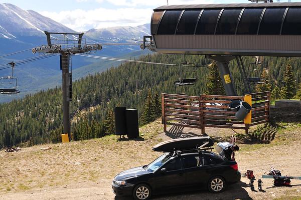 Peak 10 Hike & Ski 8-2014