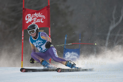 Megan GREINER at the Siebert Cup GS race at Berkshire East on January 27, 2018.