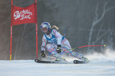 Eliza PHILLIPS at the Siebert Cup GS race at Berkshire East on January 27, 2018.