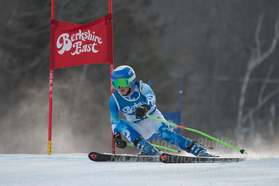 Emi Tsukada at the Siebert Cup GS race at Berkshire East on January 27, 2018.