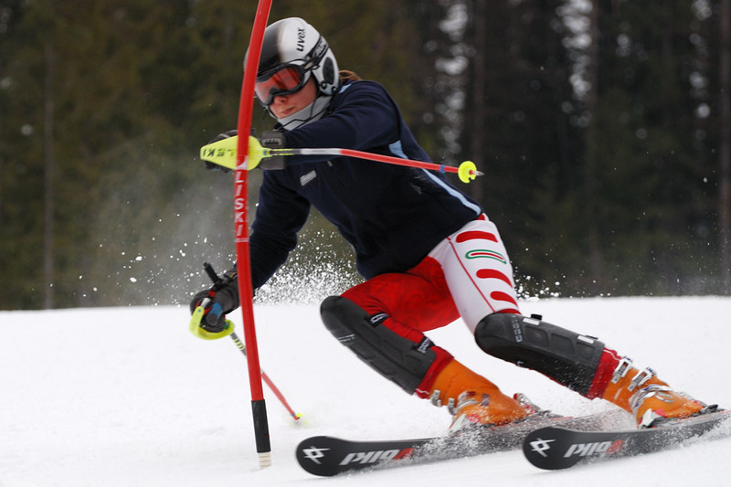 Skier: Laura Wuschek - photo by Steve Hilts