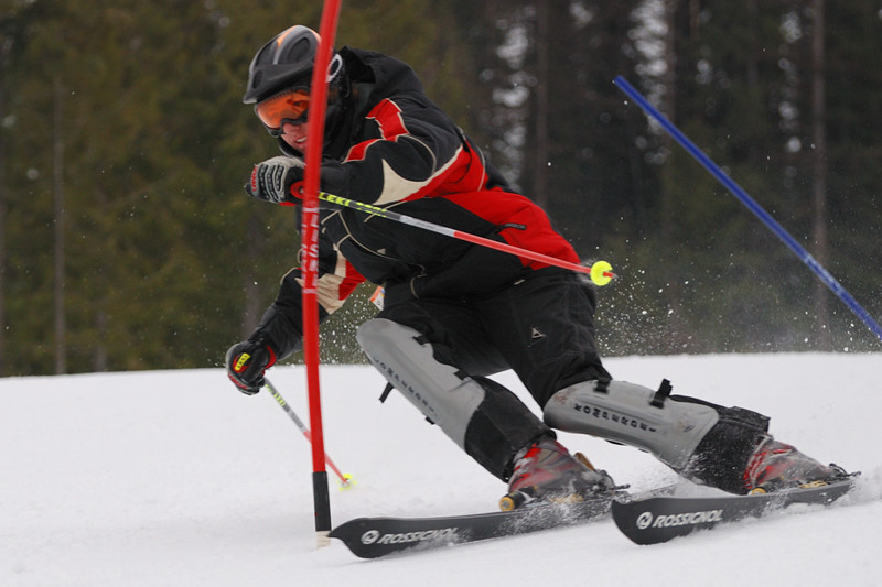 Skier: Jake Muffly - photo by Steve Hilts
