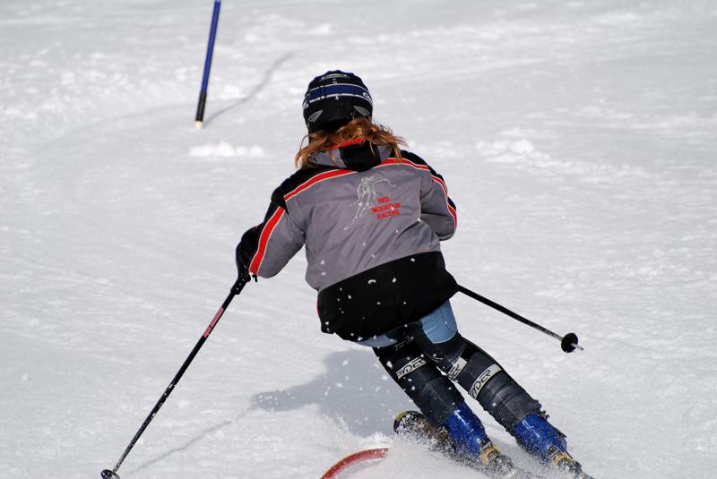 Skier: Stacy Jasinski - photo by Steve Hilts