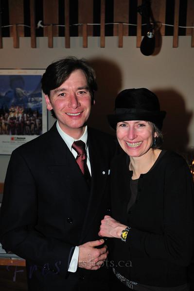 Anthony Bell & Helen Clugston