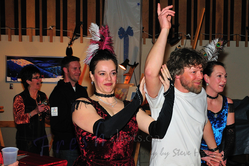 "Head coach Phil Paterson is now the latest ""Boomtown Garter Girl"""