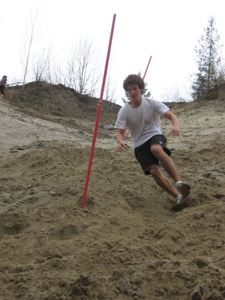 Sand Hill Training: Photos by Grant Rutherglen and Chris Galay