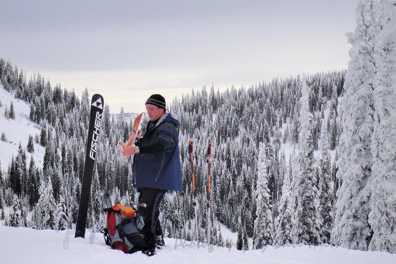 Granite Mountain Ski Tour 2009-11-29 (8)