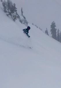 Jimbo in Snowbird bowl on Silverfox
