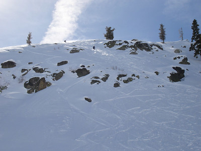 Try and find this 3 days after a storm at Squaw. Super secret sugar stash! And I've been skiing here how long?