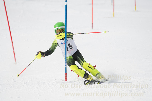 U12 Boys Championship Slalom and GS