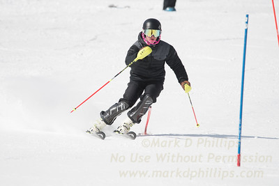 No Commercial Use / Personal Use Only  / Cam Ottoson foreruns at U12 Championship Day 1 Slalom on March 3, 2017