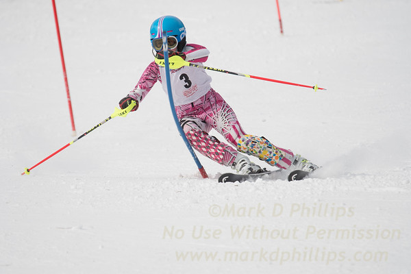 U12 Championship Girls Slalom and GS