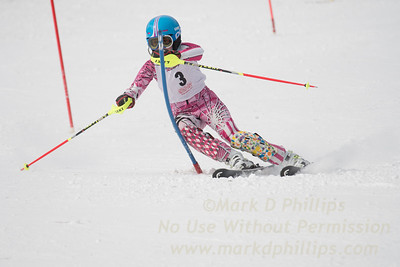 U12 Championship Girls Slalom and GS
