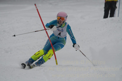 U16 race at Blandford Ski Area on Saturday, February 11, 2017