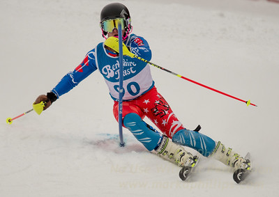 Cameron Ottoson races at Berkshire East in the U19 Slalom Schaefer Cup