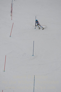 Liza Phillips races at Berkshire East in the U19 Slalom Schaefer Cup